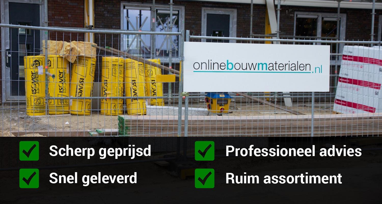 Bekend Verhouding zand, cement, grind voor mortel | Online Bouwmaterialen XU22